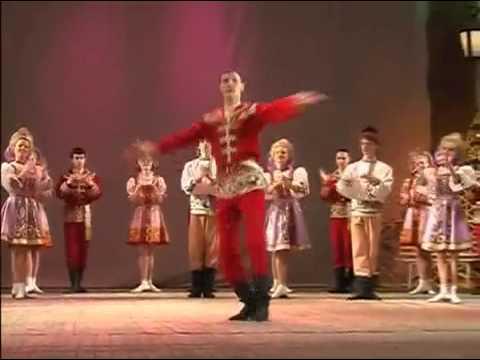 USSR 05.08.1991 - Russian folk dance - KALINKA