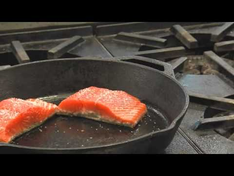 Alaska Copper River Sockeye Salmon Cooking Demonstration