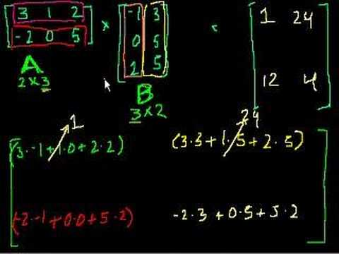 Matrix multiplication (part 2)