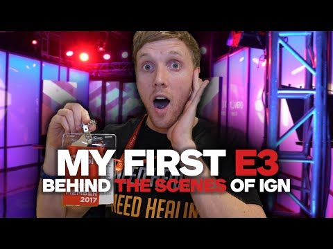 My First E3: Behind the Scenes of IGN - UCKy1dAqELo0zrOtPkf0eTMw