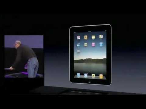 Apple iPad: Steve Jobs Keynote Jan 27 2010 Part 1