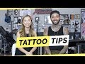 10 tips before you get your first tattoo with tattoo artist romeo lacoste