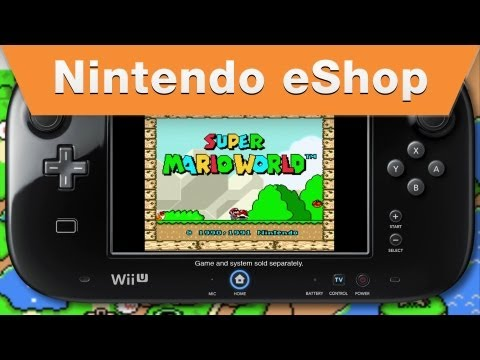 Nintendo eShop - Super Mario World Wii U Virtual Console Trailer