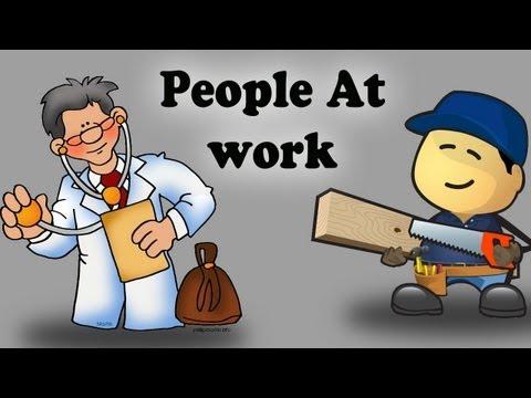 Kids Educational Videos - People At Work