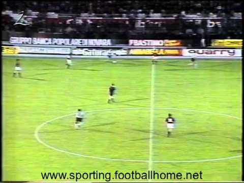 Sporting 2 - Bolonha - 0 UEFA 1990/1991