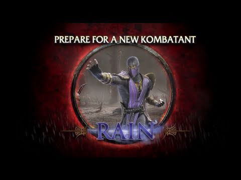 Mortal Kombat - Rain Trailer (PS3, Xbox 360)