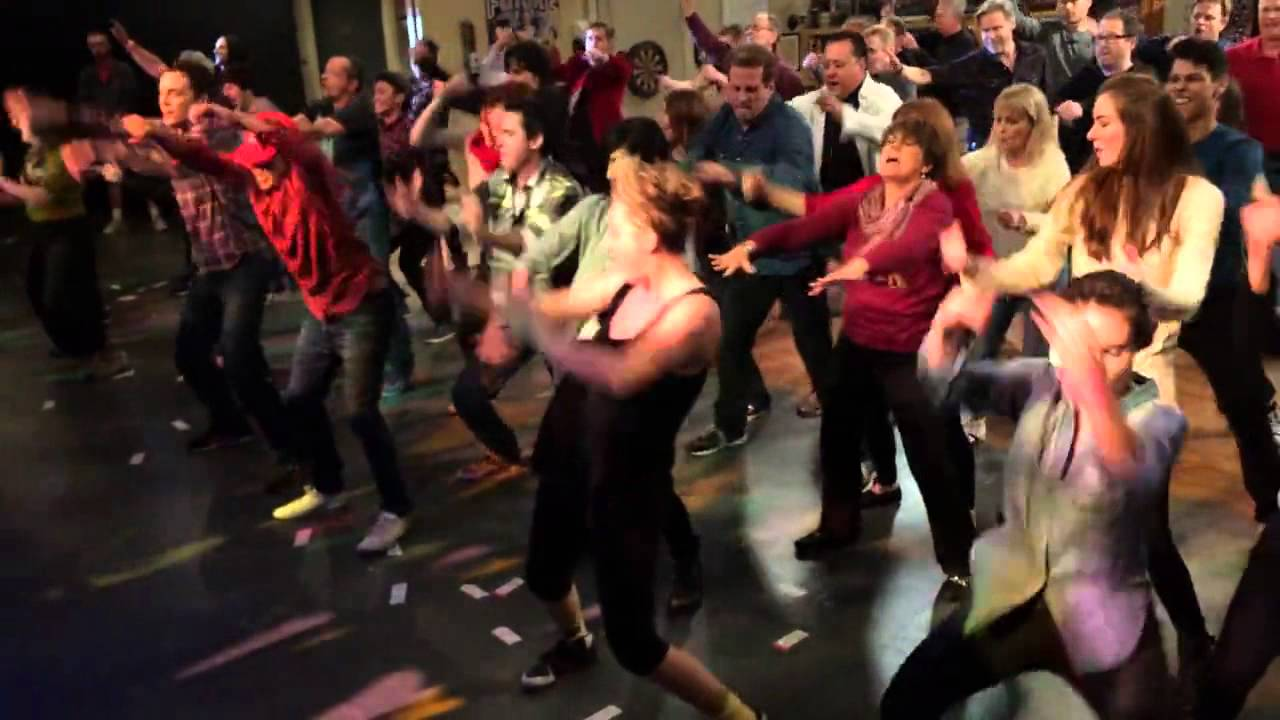 [The Big Bang Theory] Flash Mob 2014