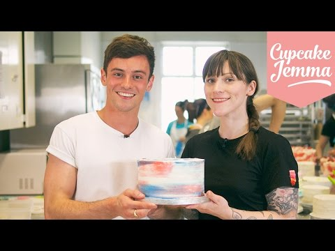 Watercolour Buttercream Masterclass with Tom Daley | Cupcake Jemma