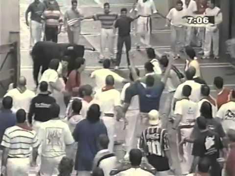 Encierro San Fermin Pamplona  2002