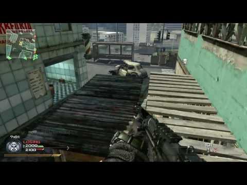 Modern Warfare 2 - Tactical Nuke on Favela w/ FAL (Score: 44-3)