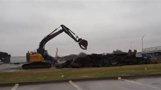 Finishing Up the Demolition of the Pinson Road Shell Station