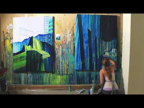 Amy Shackleton - Painting Timelapse #2