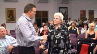 Lady Healed from blindness and emphyzema