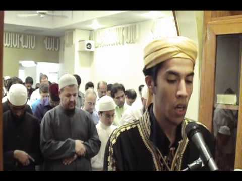 Amazing Taraweeh 2011 [Full] 1st night with Dua'a @ ICSGV USA Qari Youssef Edghouch