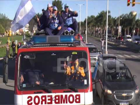 Los Campeones del Mundial de Sóftbol llegaron a Paraná