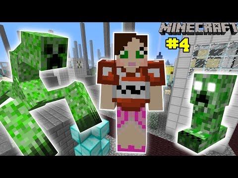 Minecraft - City - THE EVIL CREEPER CHALLENGE [4]