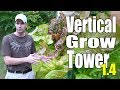 Aquaponic/Hydroponic Vertical Grow Tower 1.4 (Re-Purposed Materials)