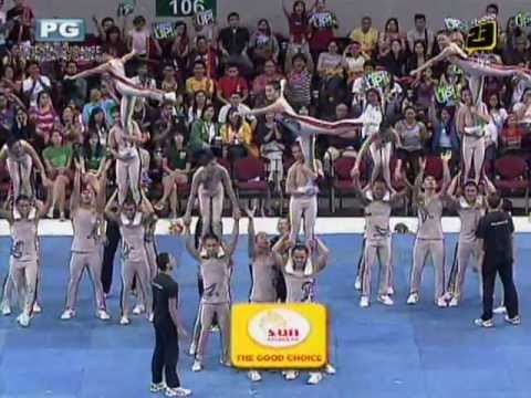 UP Pep Squad - 2012 UAAP Cheerdance Competition