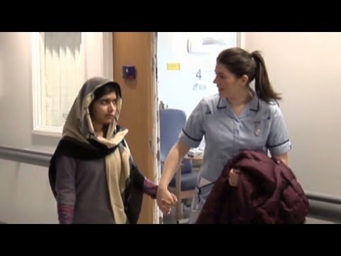 Malala's next phase of recovery
