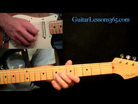 Stevie Ray Vaughan - Texas Flood Guitar Lesson Pt.4 - Verse 3