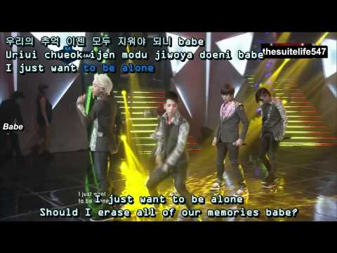 B1A4 - Baby I'm Sorry [M!Countdown] (12.03.22) {Hangul, Romanization, Eng Sub, Fanchants}
