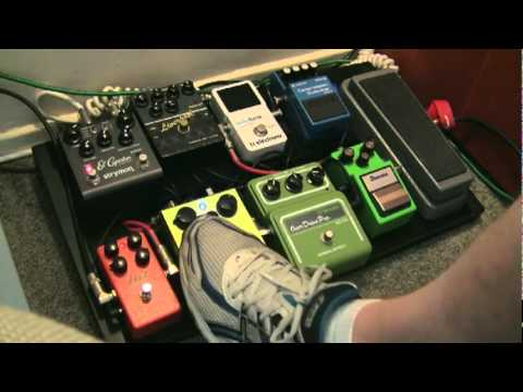 Overdrive Pedal Shootout  -TS-9, Maxon OD-820, Green Rhino & Xotic BB