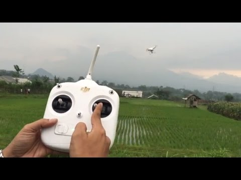 VLOG7 Cara Menerbangkan Drone DJI Phantom 3 atau 4 Mudah dan Cepat Untuk Pemula - Tutorial Dasar