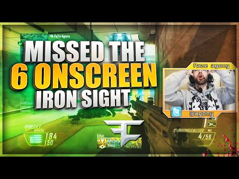 6 MAN IRONSIGHT GWK FAIL!! (BO2 Clips & Funny Moments)