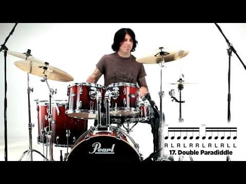 Pearl Drum Rudiments - Double Paradiddle