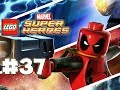 LEGO Marvel Superheroes - LEGO BRICK ADVENTURES - Part 37 - RedBRick! (HD Gameplay Walkthrough)