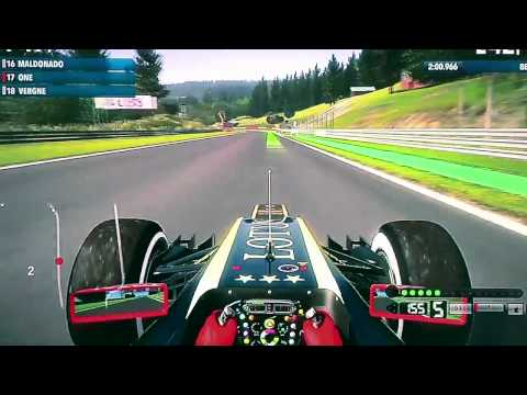 F1 2012 Gamescom 2012 Gameplay