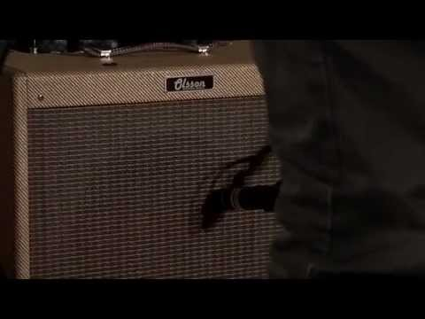 Olsson  Amps - Christoffer Johansson plays a Blues Fifteen handmade guitar amp