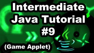 Learn Java 2.9- Game Applet- Getting Keyboard events