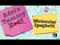 Фрагмент с начала видео - Adrienne Attoms' Yummy Science: Molecular Spaghetti | Project Mc²