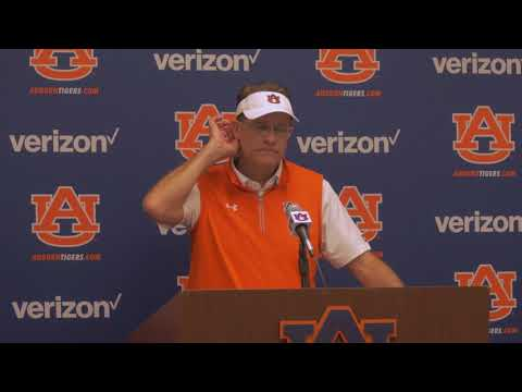 Gus Malzahn Post-Game Interview - Georgia Southern 2017