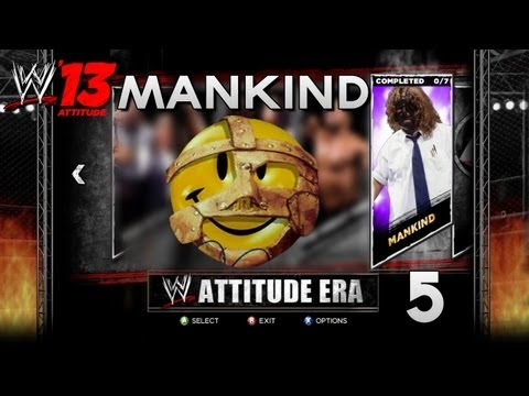WWE '13 Attitude Era Mode - Mankind - Chapter 5 - ROYAL RUMBLE!