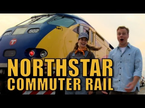 Northstar Commuter Rail - The Choo Choo Bob Show