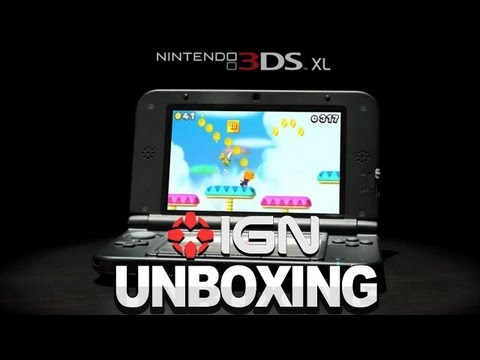 Nintendo 3DS - XL Unboxing