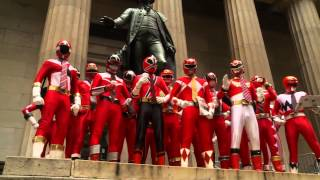 Power Rangers Celebrate 20th Anniversary in The Big Apple