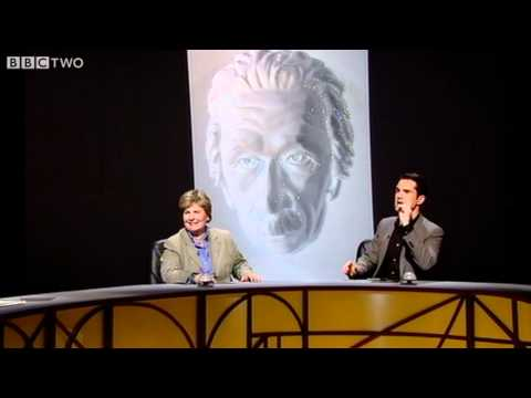 Optical Illusions with an Einstein Mask - QI Series 9 Ep 1 - BBC Two