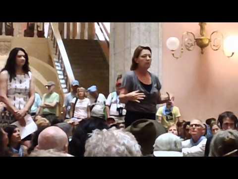 Don't Frack Ohio Rally 6/17/2012 - Inside the Statehouse Rotunda (3 of 3)