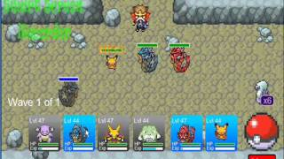 Pokemon Tower Defense is hosted with permission from Sam & Dan Games