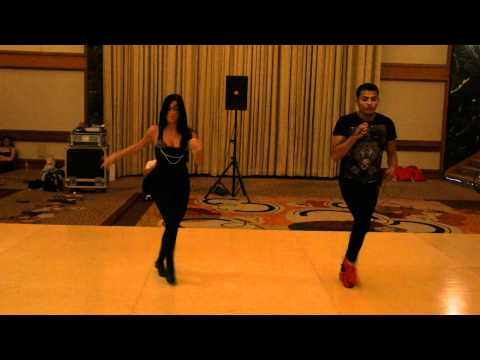 Adolfo Indacochea &amp; Carla Voconi workshop salsa on2 fancy shines @ NY Salsa Congress 2011