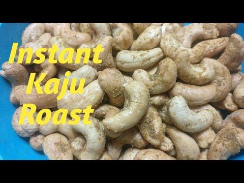 Kaju roast karne ka Sabse perfect or anokha tareeka  Quick & instant way to fry cashews - UC19s5RgAO5vlff6p7d4cCAQ