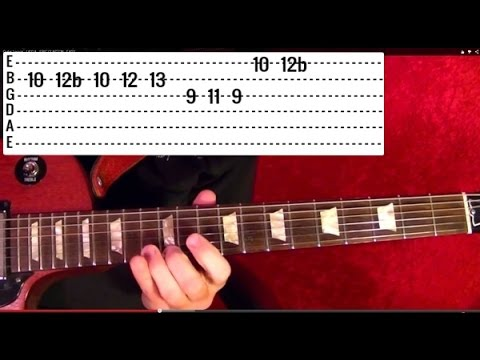 Awesome Rock/Blues Guitar Riffs to Play