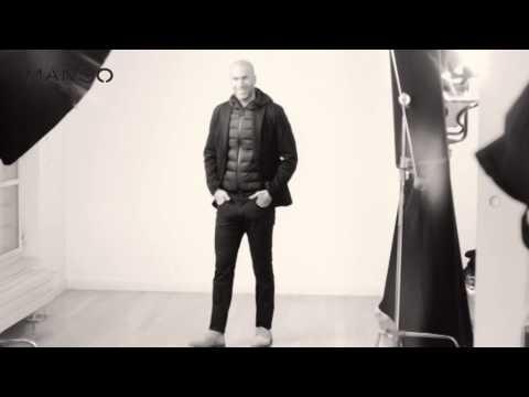 بالفيديو.. زين الدين زيدان يشارك فى الترويج لشركة ملابس عالمية