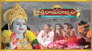 Sri Rama Rajyam Song Trailer