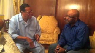 Minister Louis Farrakhan Breaks Down Django Unchained, Gun Control & Talks Freedom