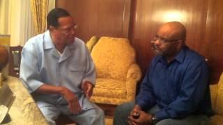 Minister Louis Farrakhan Breaks Down Django Unchained, Gun Control & Talks Freedom