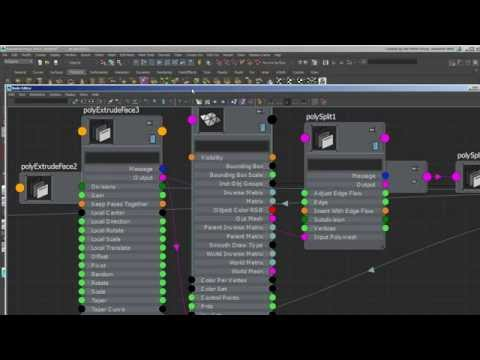 Using Intermediate Objects in Maya for Transferring Attributes